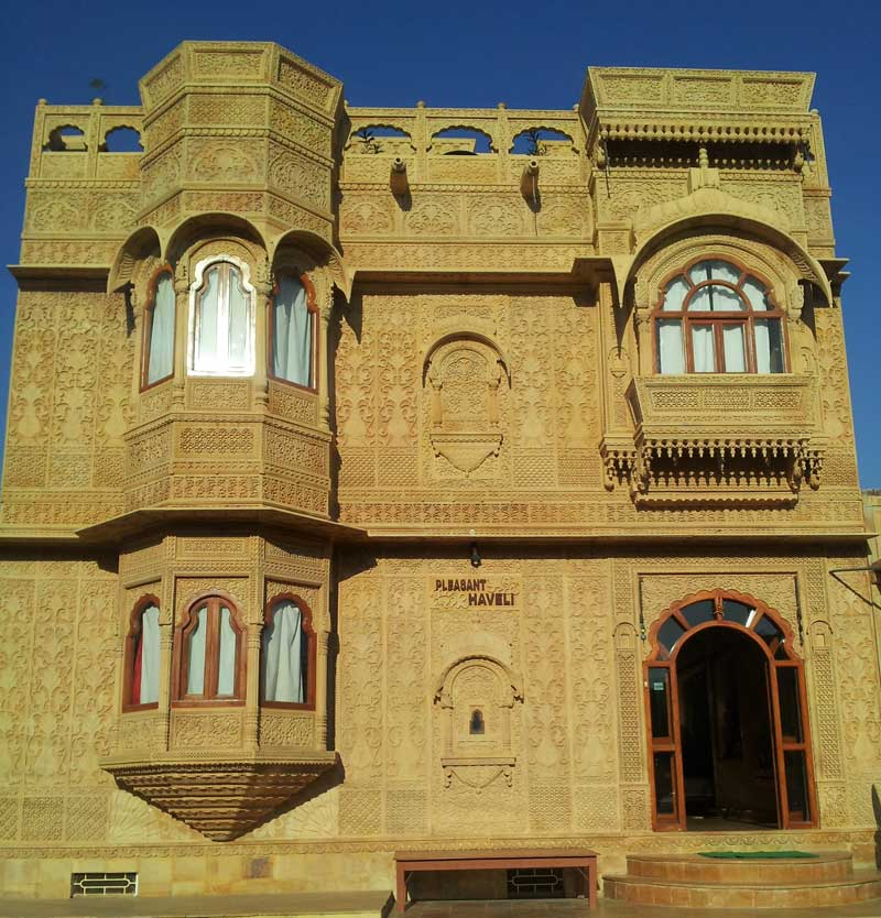 Front Elevation of Pleasant Haveli